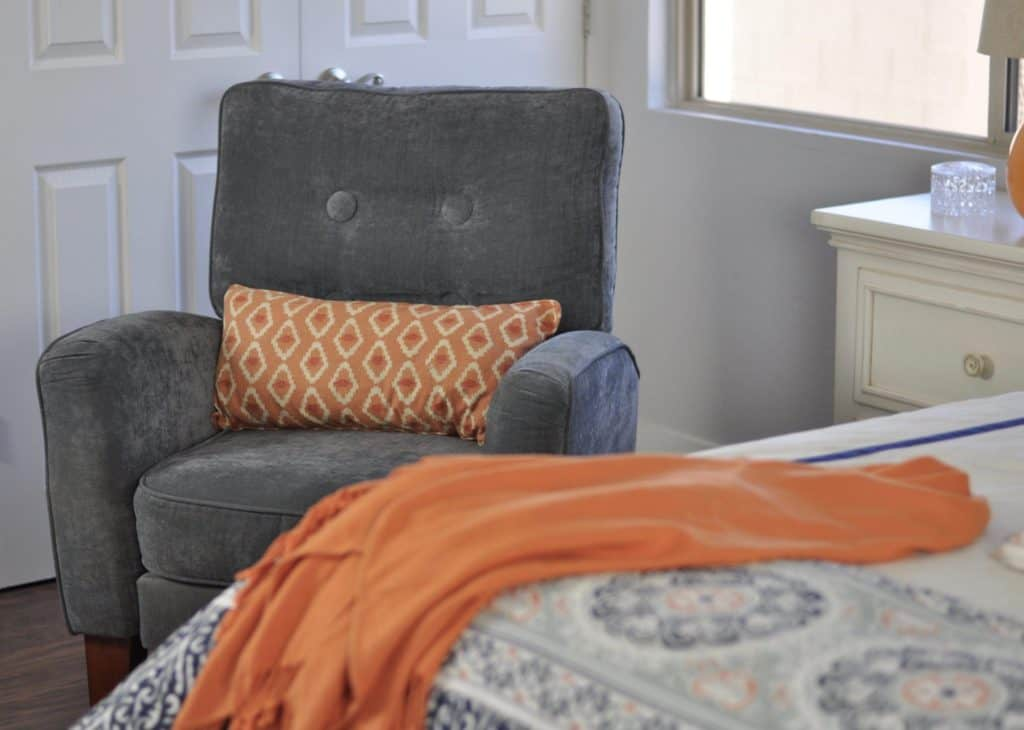 Organe Pillow and Blanket Bedroom