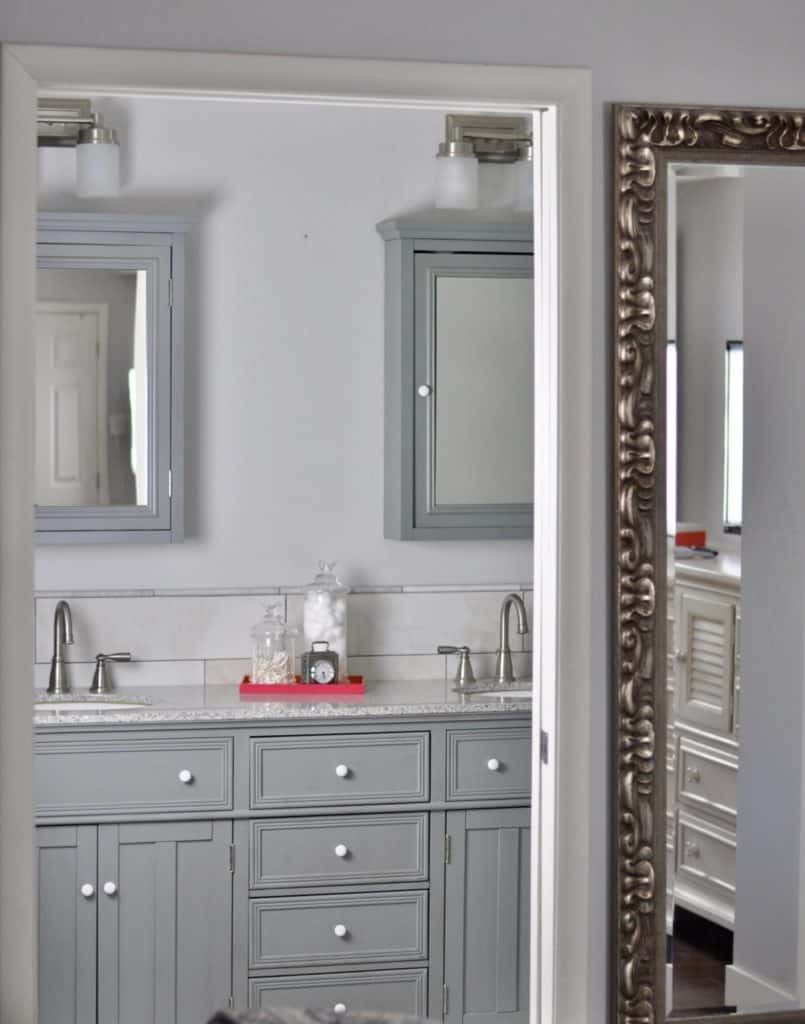Bedroom to Bathroom Intentional Edit
