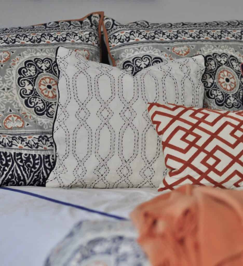 Master Bedroom Pottery Barn Pillows