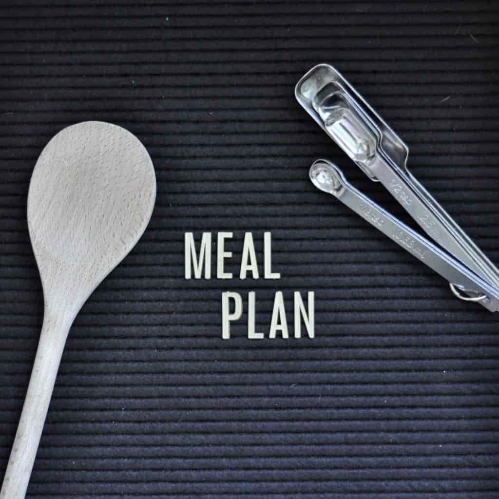 meal planning with Intentional Edit