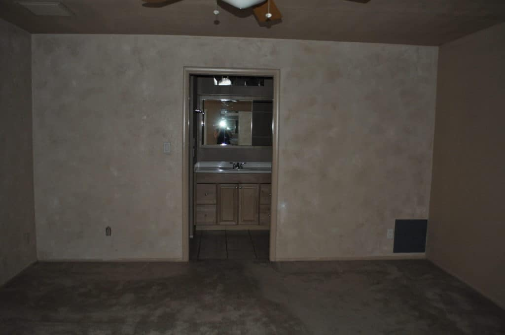 Before image of master bedroom remodel project by Intentional Edit Scottsdale