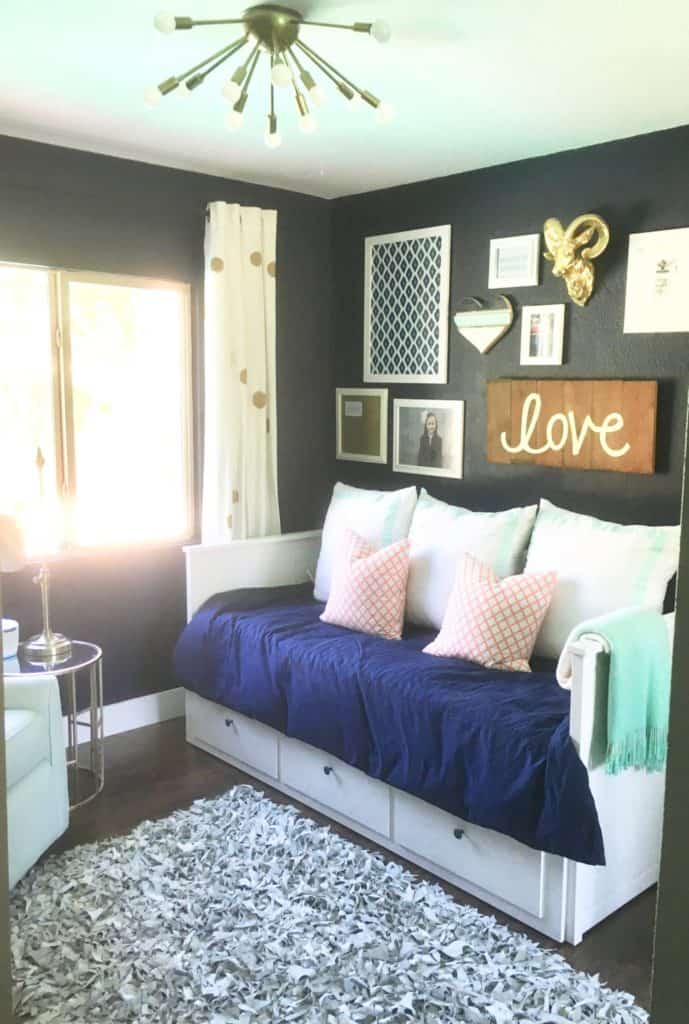 Guest Bedroom Storage Bed Intentional Edit