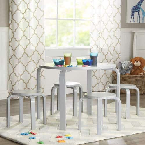 Kids Table and Chairs Stools for playroom