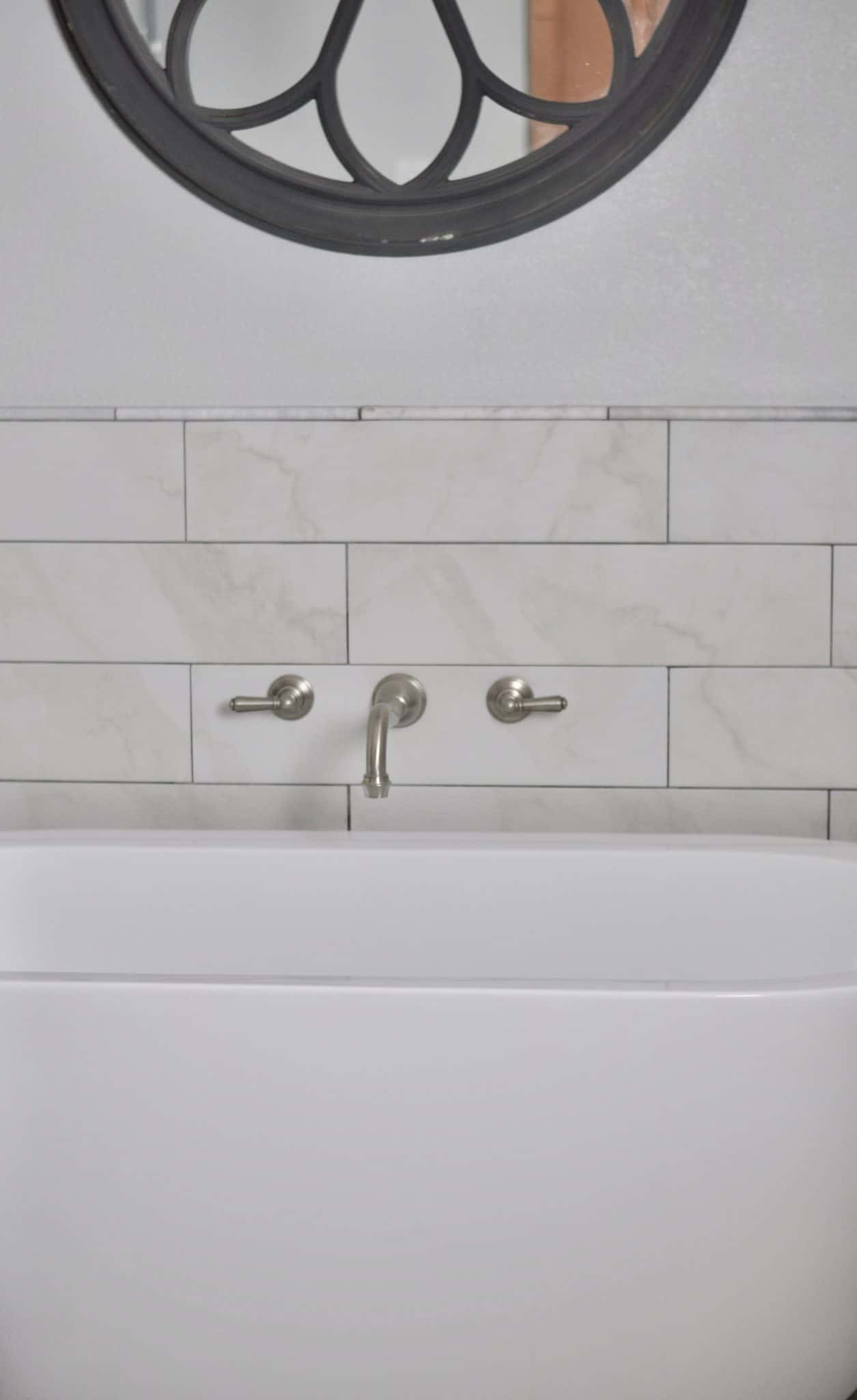 bathroom tub faucet remodeled bathroom organized bath Intentional Edit