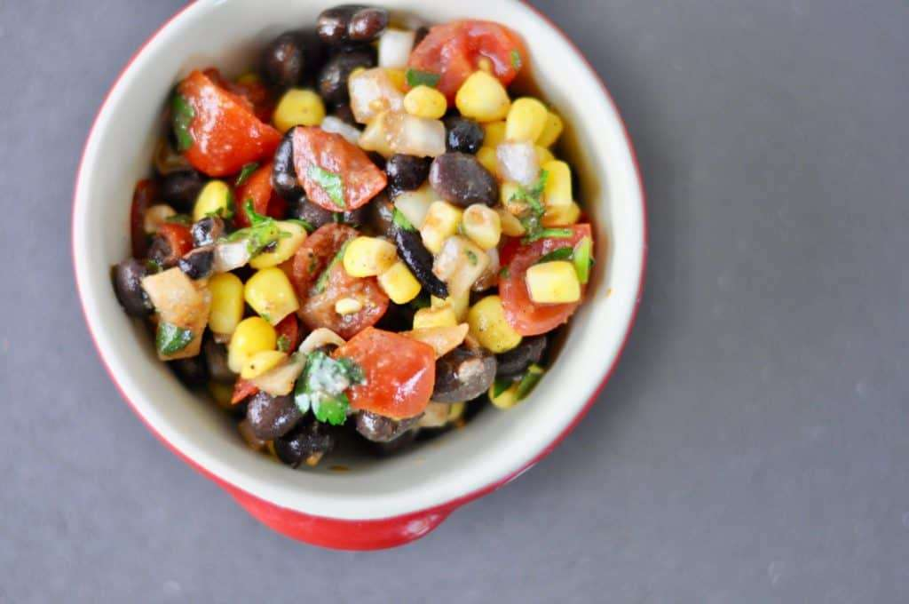 corn and black bean salad easy recipe