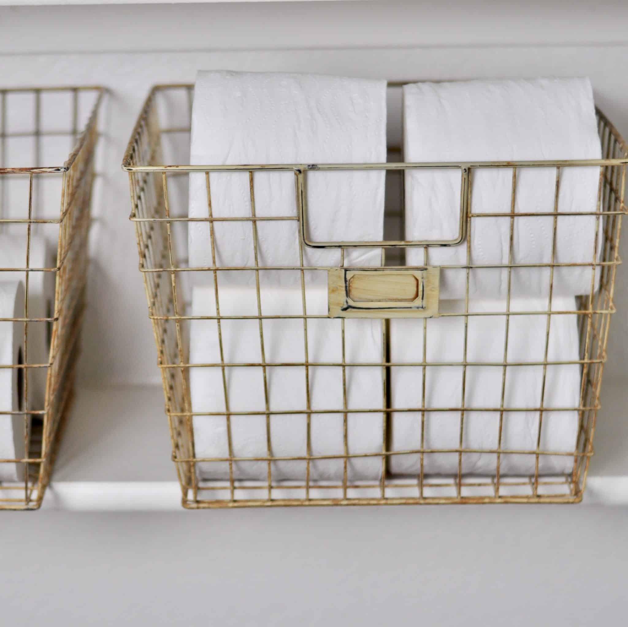 Linen Closet Baskets Intentional Edit Professional Home