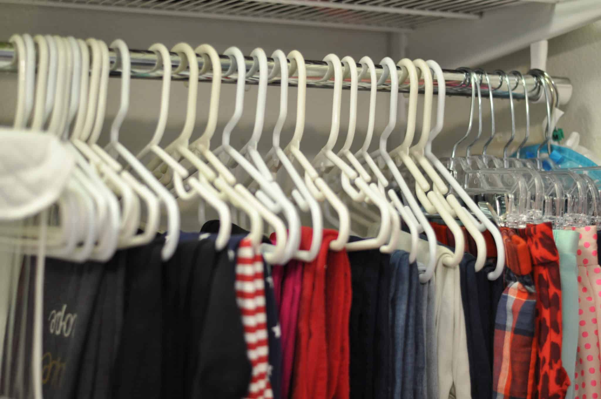 Childs Closet Hangers Intentional Edit Professional Home