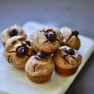 healthy recipe date oat mini muffin