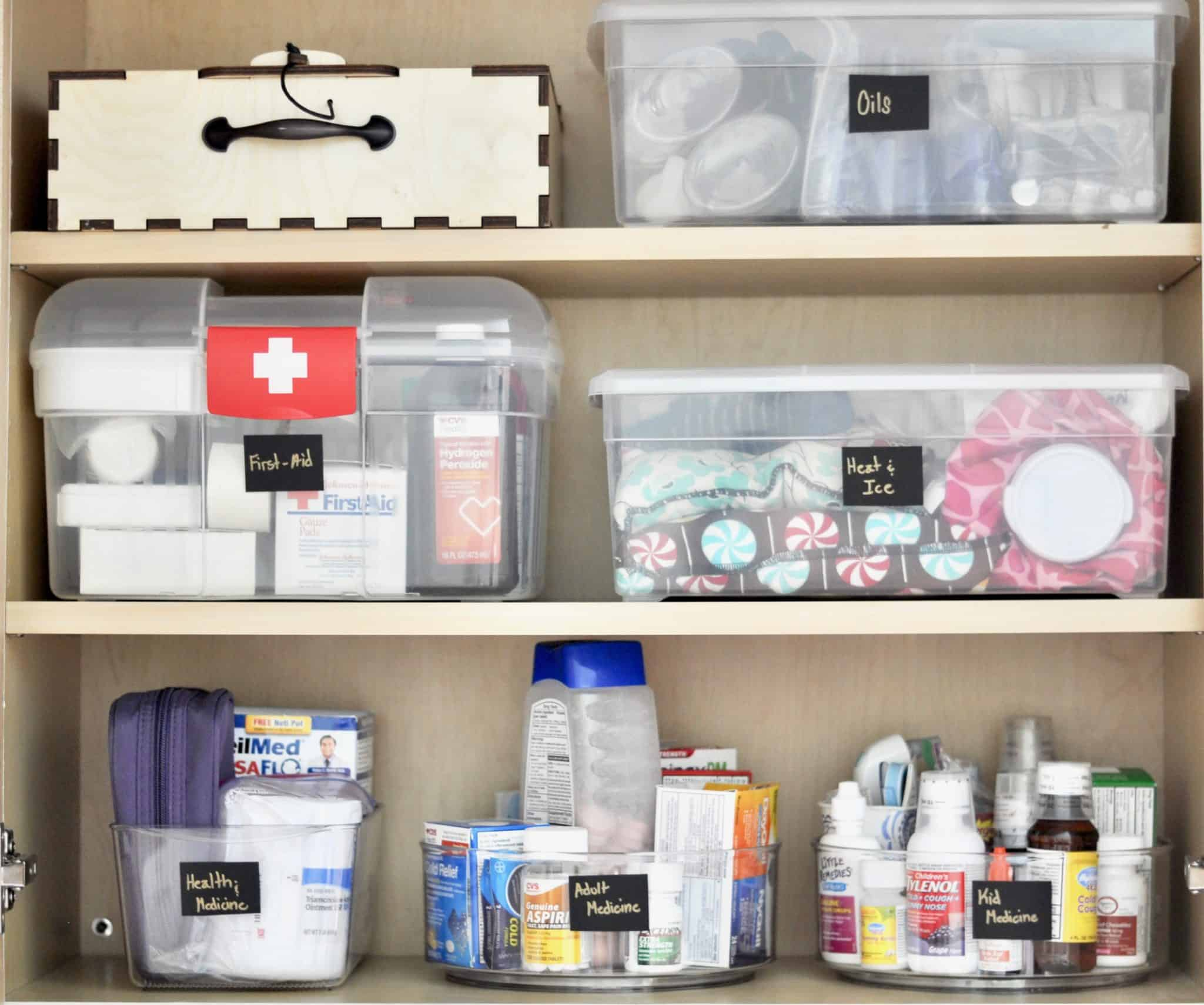 Organized Medicine Cabinet In 4 Steps Intentional Edit Organizing And All Things Home