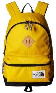 north face berkley backpack yellow gold