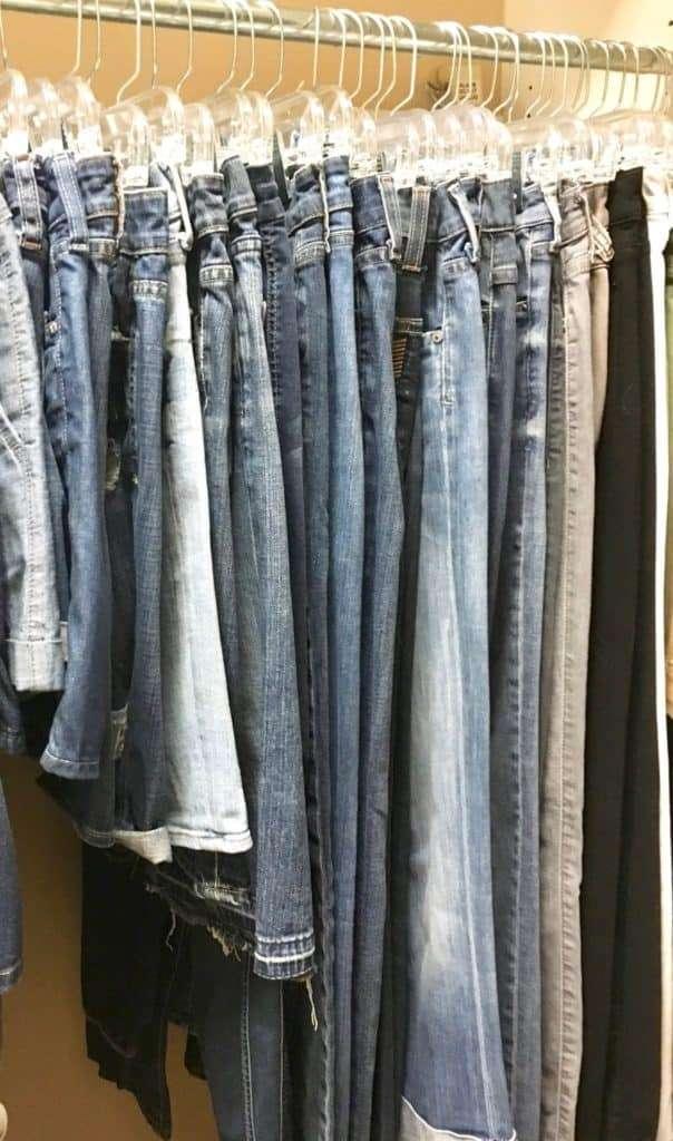 ultimate denim pants hangers PV client
