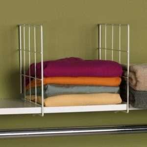 organize closet shelf divider