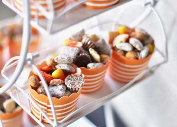 Halloween Chex Mix Party food