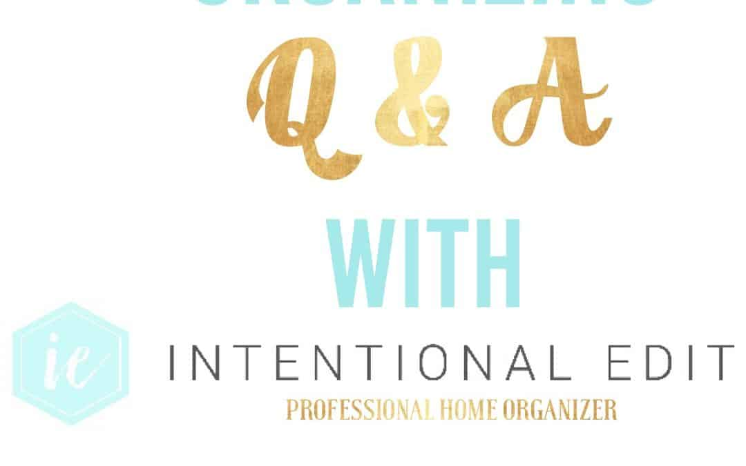 Ask Lauren, Q & A with Intentional Edit #5