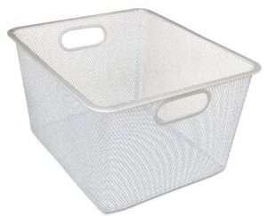 mesh basket perfect for pantry organization