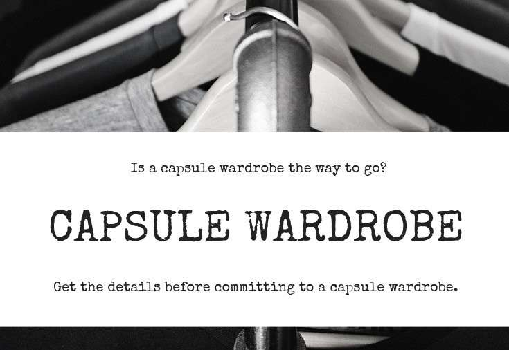 how to decide on a capsule wardrobe