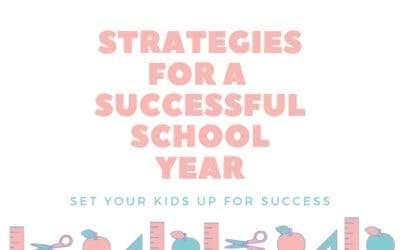 Strategies for a Successful School Year
