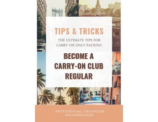 carry-on club travel tips