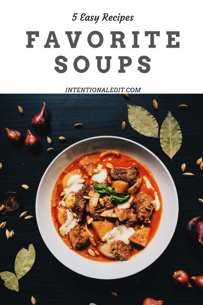 5 best soup recipes