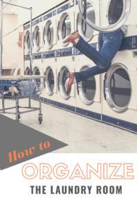 professional organizer laundry room rganization tips