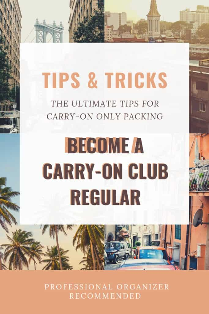 travel tips - carry-on club