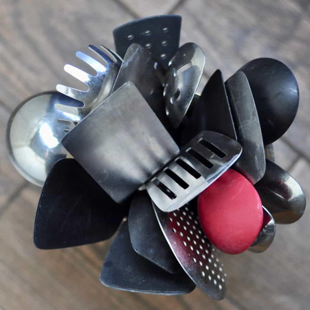 utensil holder - kitchen organization