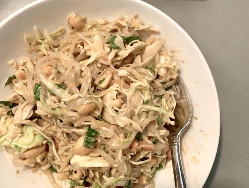Peanut Asian (low Carb) Salad