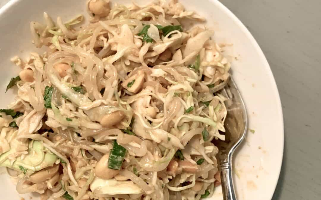 Peanut Asian Salad – low carb