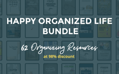 The Happy Organized Life Bundle is HERE!