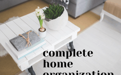 Complete Home Organization… with 1 simple question