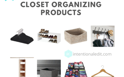 Organize your Closet with Recommended Products