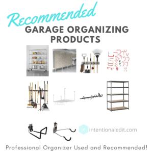 garage products organization