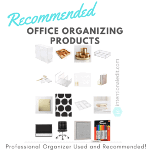 organizing office products