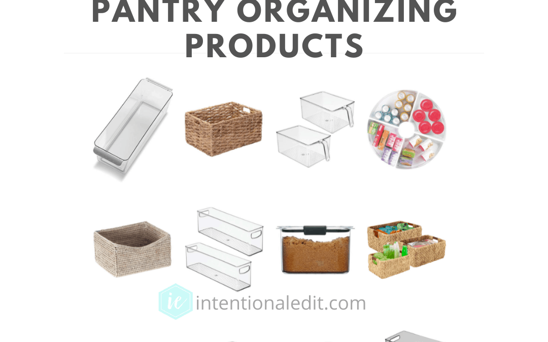 Pantry Organizing Products