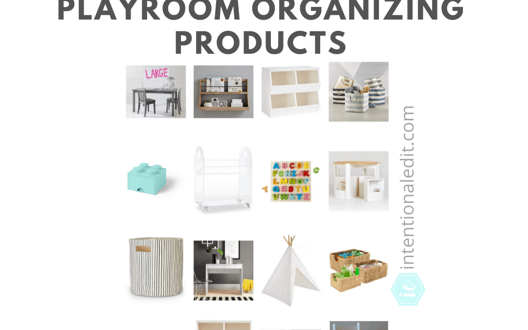 Products for an Organized Playroom