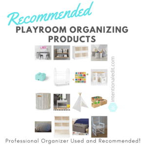 playroom organizing and inspiration