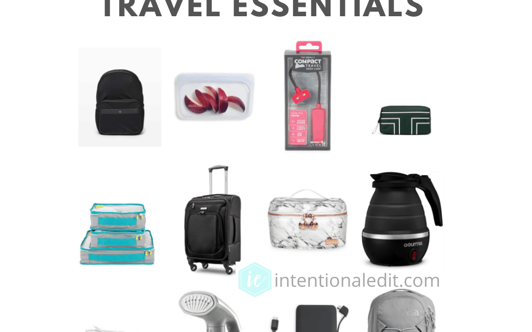 organized packing for easy travel