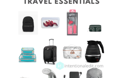 Products for an Organization when Traveling