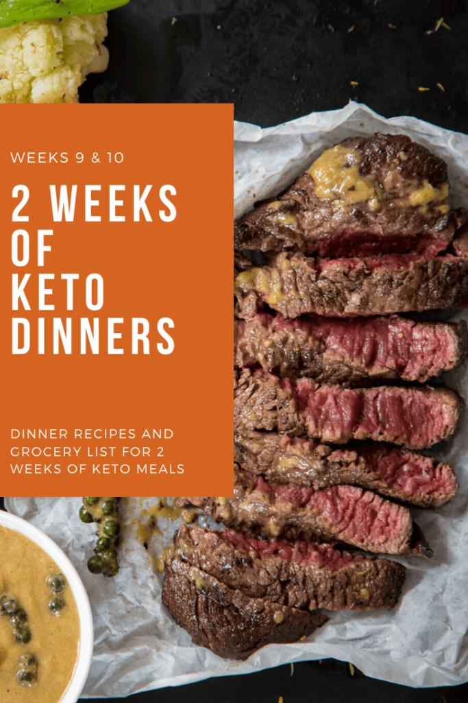 2 week recipes Keto dinner plan