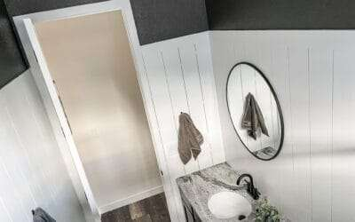 Upgrading a Builder-Grade Bathroom