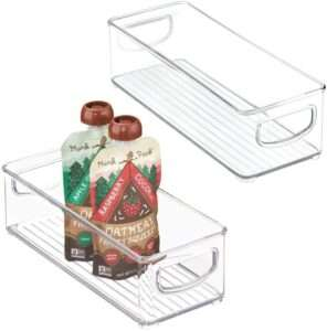 clear pantry storage acrylic slide stacking organization
