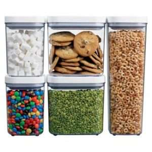 OXO pantry and kitchen food storage