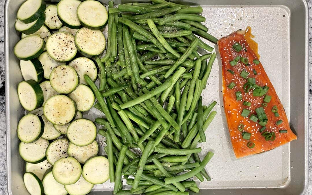 Sheet Pan Salmon and Vegetables – Easy Dinner Recipe