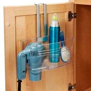 cabinet door bathroom organizer
