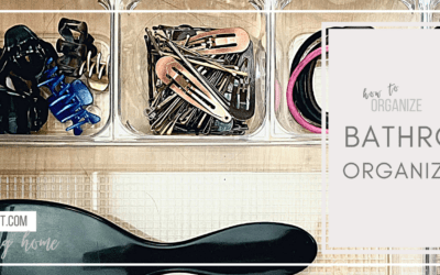 Products to Organize your Bathroom