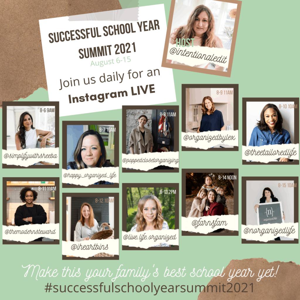 Successful School Year Summit 2021 - Colab