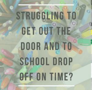 struggling back to school