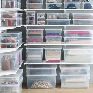 Our Clear Storage Containers