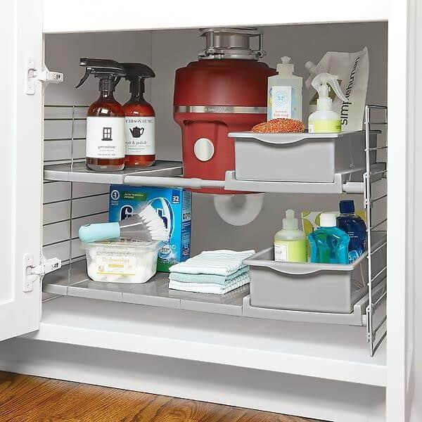 Under Sink Add A Shelf