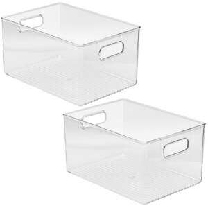 Storage Containers with Handles
